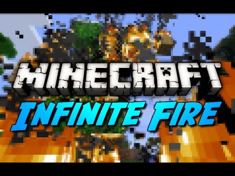 Minecraft: Infinite Fire Demonstration in 12w34a! + Seed Showcase!
