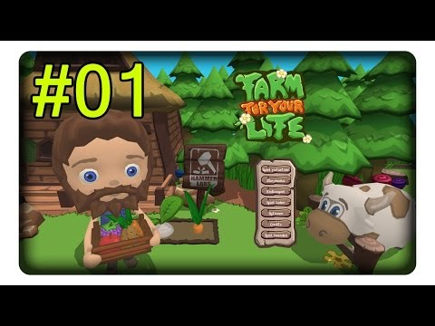 Farm For Your Life #01 Berta, Die Kuh «» Let's Play | Deutsch