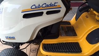 6. How to change the air filter in a Cub Cadet LT 1042