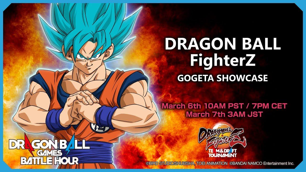 DRAGON BALL Games Battle Hour: DRAGON BALL FighterZ: GOGETA SHOWCASE