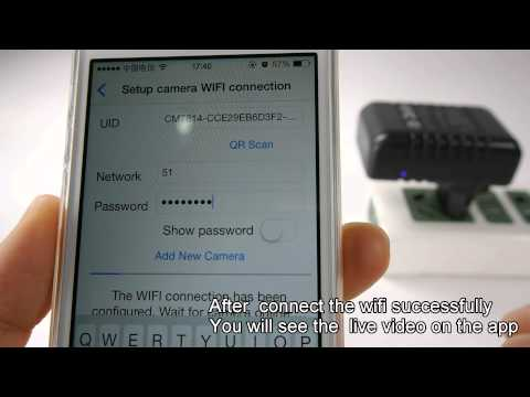 How to use WIFI AC Adapter /charger Hidden Camera