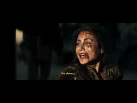 Scene from 12 Strong movie - Female Student in Taliban