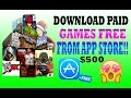 Download Video Download All Paid Games & Apps from App Store for FREE!! No Jailbreak iPhone,iPad (Premium Apple ID)