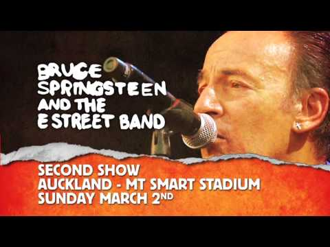 Bruce Springsteen and the E Street Band Live in New Zealand