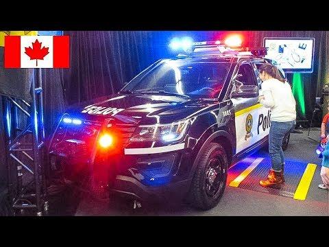 SPECIAL | Walkaround of BRAND-NEW 2017 Sûreté du Québec Patrol Vehicles at Montréal Intl Auto Show