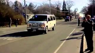 South Portland (ME) United States  City new picture : Obama's Motorcade South Portland, Maine