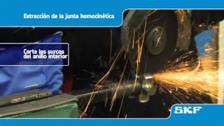 SKF - Instalación de la nueva junta homocinética VKJA 3867 - Toyota Avensis