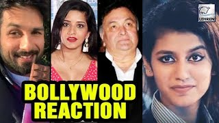 Video Bollywood REACTS On Internet Sensation Priya Prakash Varrier | LehrenTV MP3, 3GP, MP4, WEBM, AVI, FLV Maret 2018