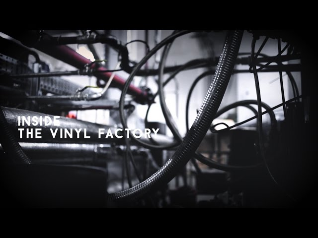 How to press a vinyl record - in 60 seconds