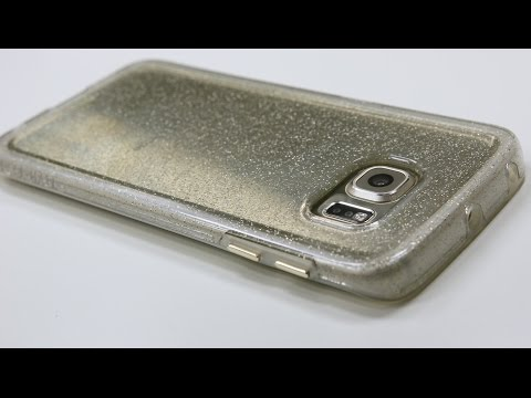 Naked Tough for S6 Edge by Case Mate  [ Sheer Glam / Gold ]