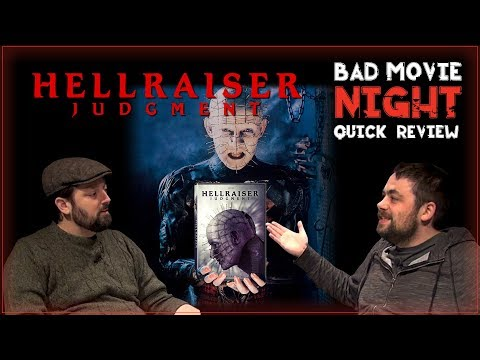 Hellraiser: Judgment (2018) Movie Review And Hellraiser Franchise Discussion