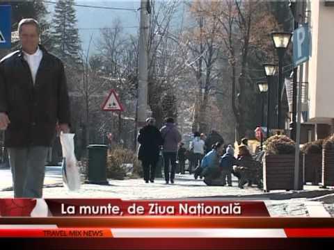 La munte, de Ziua Națională