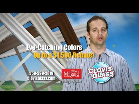 Clovis Glass $1500 Window Rebate