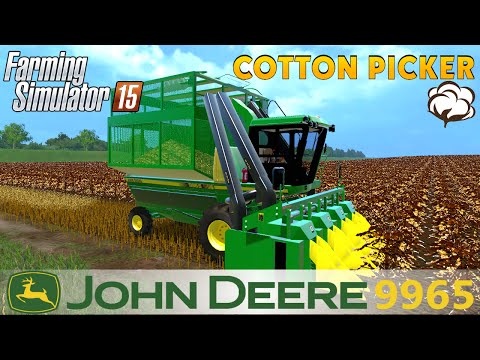 John Deere 9965 Cotton picker v1.1