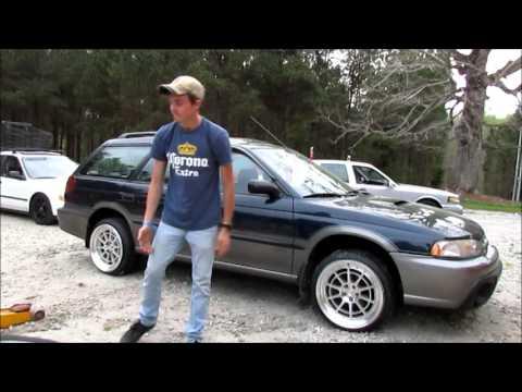 Subaru Legacy gets WHEELS FOR DAYZ