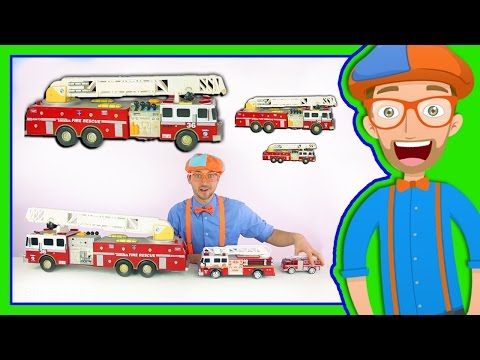 fire truck from blippi