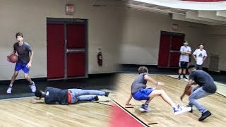 Video OMG 14-YEAR OLD WHITE KID MAKES HIM FALL!! HE BREAKS HIS ANKLES RIGHT AFTER! INSANE 1V1! MP3, 3GP, MP4, WEBM, AVI, FLV Februari 2019