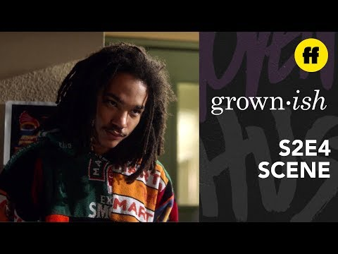 grown-ish Season 2, Episode 4 | Zoey Tells Luca The Truth | Freeform