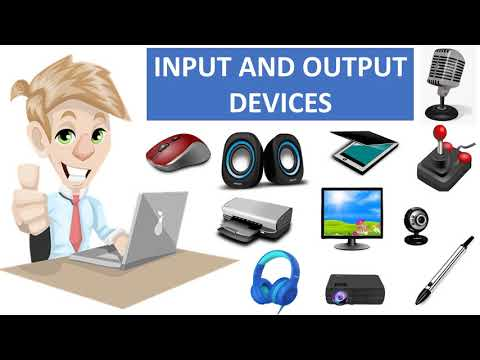 COMPUTER INPUT AND OUTPUT DEVICES FOR CHILDREN || BASIC COMPUTER || COMPUTER FUNDAMENTALS