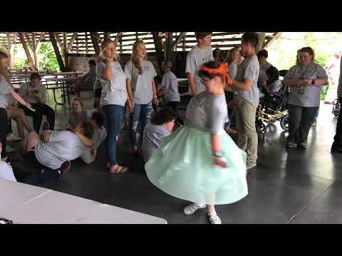 Video: Elisabeth Cowart dances at BUDS Prom Thursday