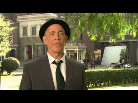 """Growing Up Fisher: J. K. Simmons """"Mel Fisher"""" Premiere TV Interview"""