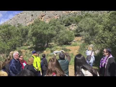 Geologische zu Fuß des Groβer Wanderweg Málagas