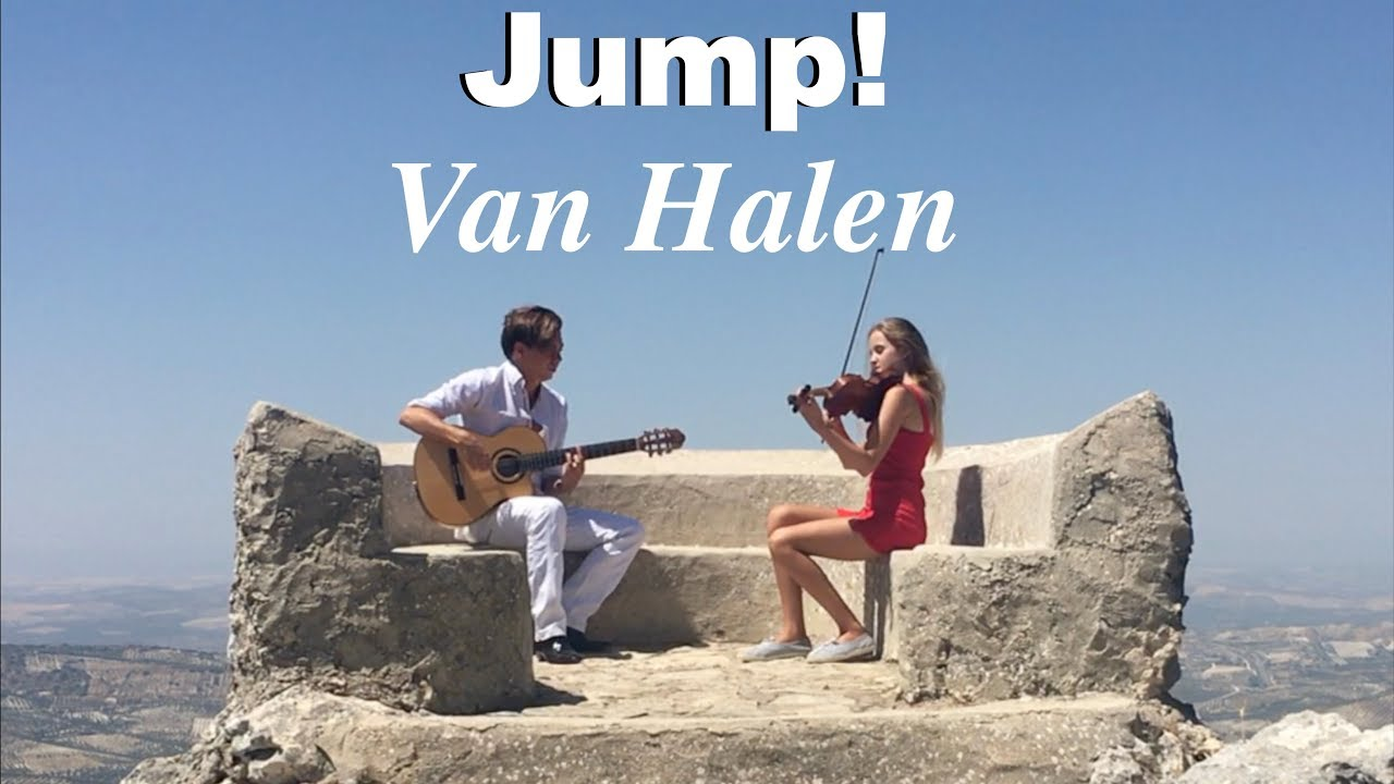 Jump (Van Halen) Acoustic – Fingerstyle Guitar & Violin – Thomas Zwijsen & Wiki Krawczyk