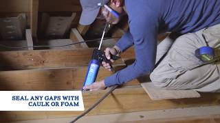 Installing Blow-In Attic Insulation
