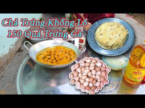Black -Trứng Chiên Khổng Lồ - Thử Chiên 150 Quả Trứng Gà ( Try to fry 150 chicken eggs ) - Thời lượng: 13:29.