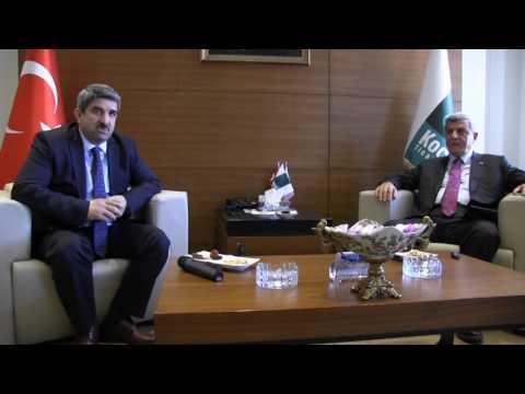 Başkan Karaosmanoğlu, KOTO'yu ziyaretinde, ''Kalifiye eleman yetiştirmeye hazırız'' dedi