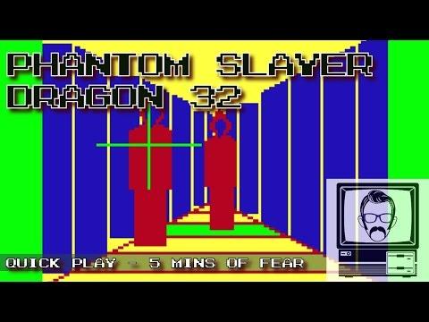 Phantom Slayer - Dragon 32; Quick Play   Nostalgia Nerd