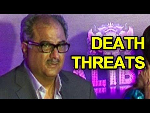 Boney Kapoor gets death threats from the underworld