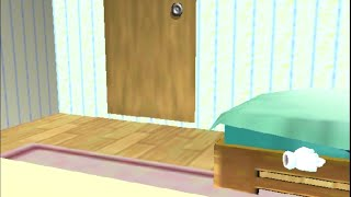 Apparently the room in Smash64's opening has a rendered door and the tissue box on the floor.