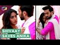 Shivaay Saves Anika   Romantic Moment   Ishqbaaz   Star Plus