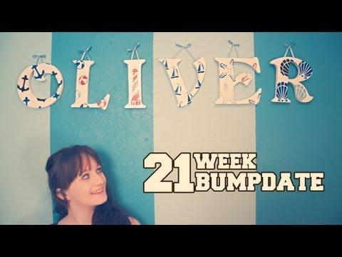 21 WEEK BUMPDATE – Birth Plan, Belly Button, and little Ollie – Pregnant After Stillbirth