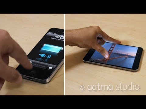 Concept iphone 5 - New iPhone 5, New iPad & iPad Mini come together in this iPhone 5 concept must see video. This CG iPhone 5 has a longer iPhone design, iPhone 5 new larger ho...