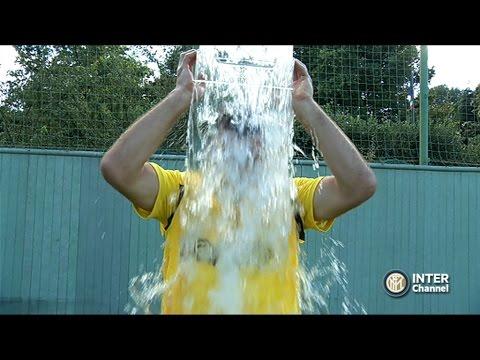 Handanović in Ice bucket challange