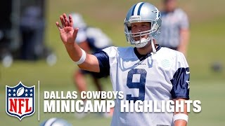 Dallas Cowboys Minicamp Highlights   NFL by NFL