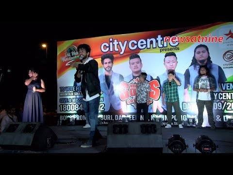 Mountain Souls perform at Citycentre, Siliguri to the delight of their fans. (видео)