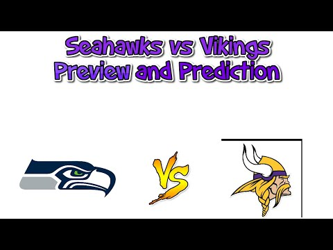 Seahawks vs Vikings Preview and Prediction (NFL)