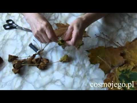 Jak zrobić róże z liści