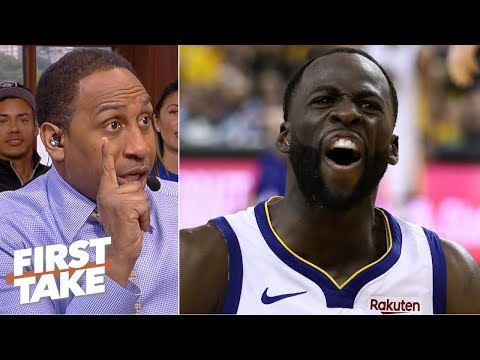 'Zip it! Don't do anything!' - Stephen A. urges Draymond to avoid a Game 7 suspension | First Take