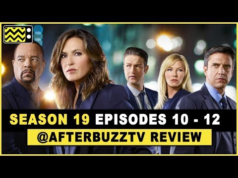 Law And Order: SVU Season 19 Episodes 10-12 Review & After Show