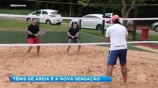 Bauru: tênis de areia é atração esportiva