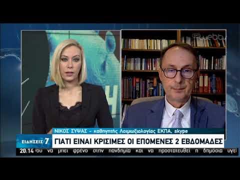 Ν. Σύψας: Γιατί είναι κρίσιμες οι επόμενες εβδομάδες | 26/03/2020 | ΕΡΤ