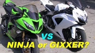 8. Kawasaki Ninja 636 or Suzuki GSX-R750? + Canyon Carving on Mulholland