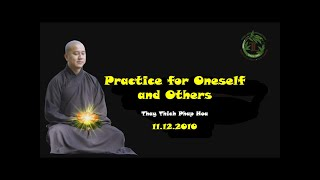 Practice for Oneself and Others - Thay Thich Phap Hoa (11.12.2010)