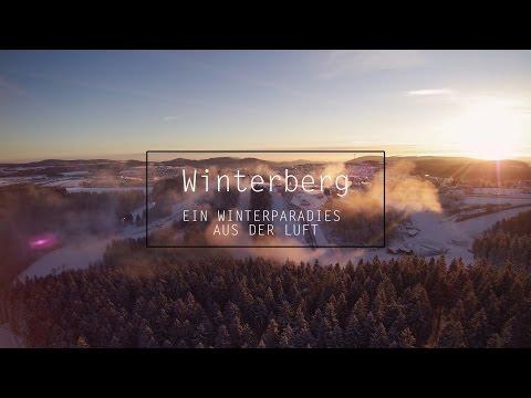 Winterparadies Winterberg 4K - Luftaufnahmen aus dem Skigebiet