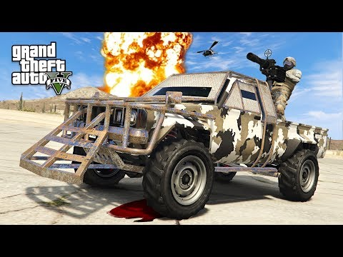 GTA 5 GUN RUNNING DLC - NEW EXTREME MILITARY PICKUP TRUCK!! (GTA 5 Online DLC Update)