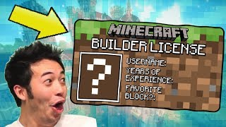 ALL THE BEST MINECRAFT BUILDERS HAVE THIS... HELLO! Do you know what all great Minecraft builders have in common? Creativity? Passion? No. A builders license. I think.HeLLo tOaStER HeADs!! tOdAY wE aRe bAcK oN mInECrAFt BuiLd bAtTlE tO pRoVe thAt I dEsErVe mY mInEcRaFT bUiLdERs liCeNsE!! i HoPe YoU eNjOY tHe ViDEO!!!Let us know what Minecraft videos you would like to see next! Do you think Purple Shep deserves his Minecraft Builders License?►GET THE GOLDEN TOASTER T-SHIRT (ends July): https://teespring.com/stores/purpleshep►My Friends, Uncles, Fathers, Mothers, Friends: Daddy Pink Sheep: http://bit.ly/2226OKMTNT Mouse Man: http://bit.ly/1iihtuRUncle Failboot: http://bit.ly/2cnRuWr►Follow Purple Shep on Twitter: https://twitter.com/PurpleShepUtub►Credits:Music from http://www.epidemicsound.com/